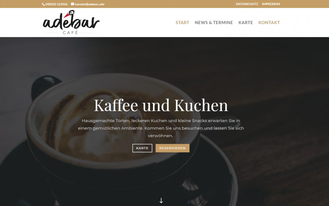Unsere erste Webseite